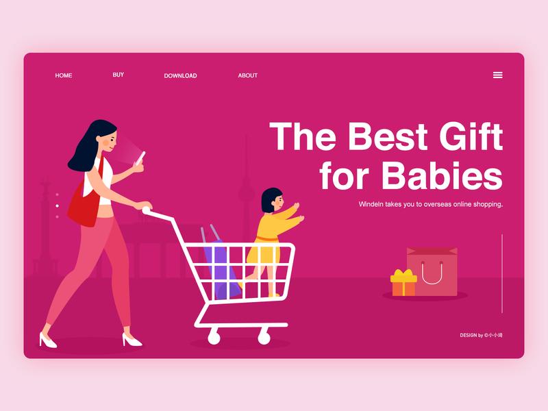 Windeln web germany mum baby shopping finance ui