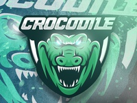 CROCODILE MASCOT LOGO GAMING