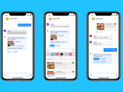 Day 14 Smart Messaging UI