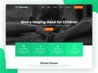 Danveer   Charity & Fund Raising Responsive HTML5 Template