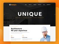 Ukainpro – Interior Design & Architecture HTML Template