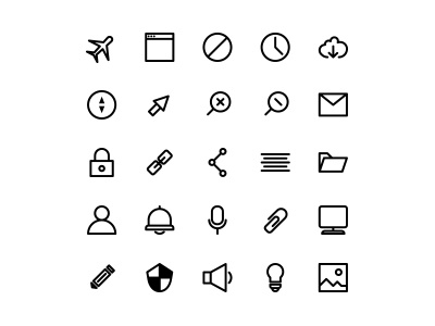 Driblle 48x48 px style line interface vector fress illustrator clean icon simple