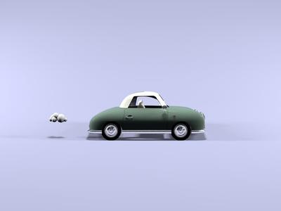Vintage Car Still