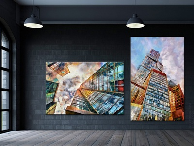 Moscow picture poster russia design illustration art moscow
