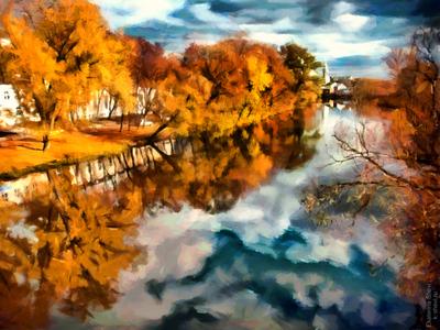 Russia autumn
