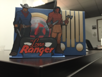 Lone Ranger paper Radio