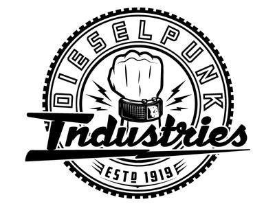 Final Dieselpunk Industries logo