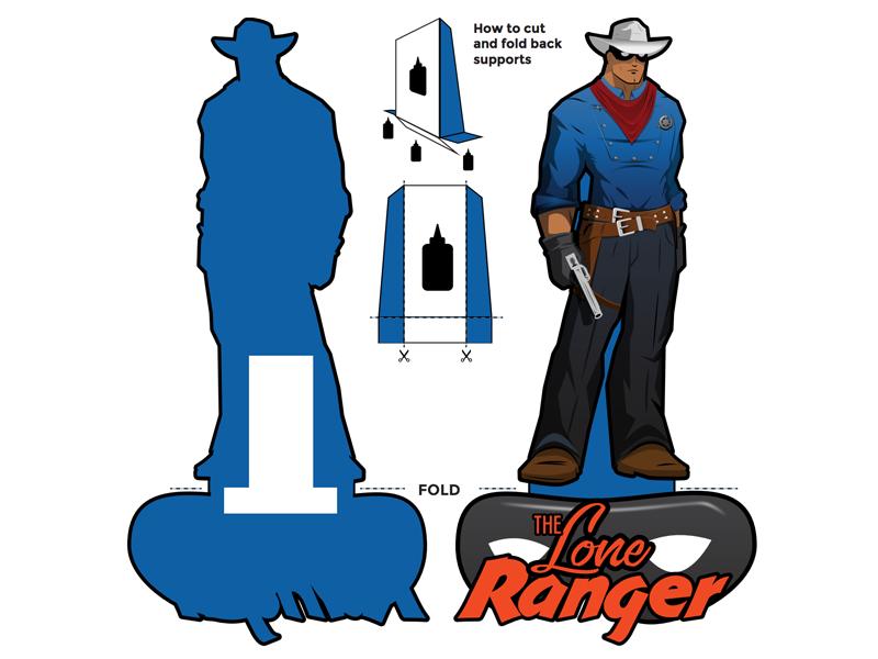 Lone ranger cutout