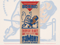 DuMont Boxing Poster