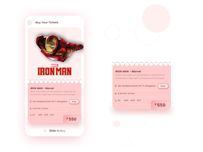 Buy movie tickets adobe creative cloud visual design sketch prototype figma adobexd user interface android user experience ui