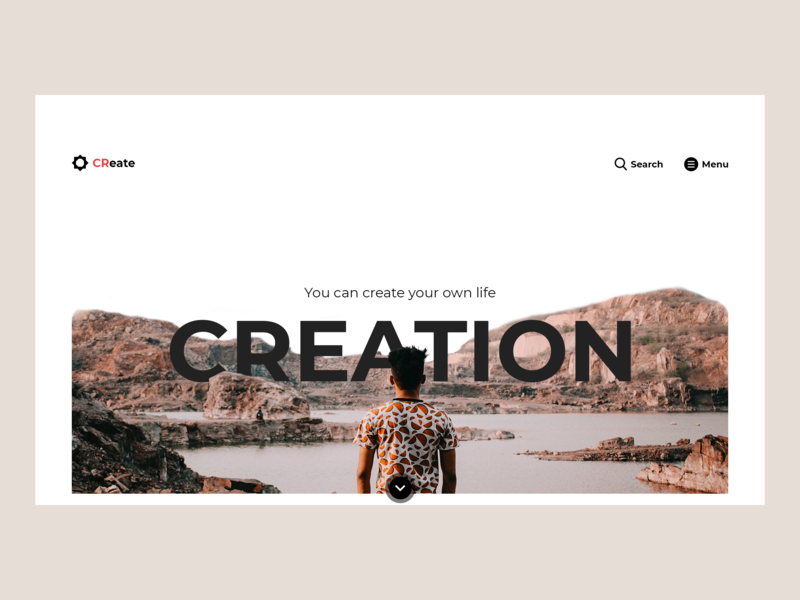 Everyweek Ui #001 | Ui Creation web  design followback follow me logo illustration ui design