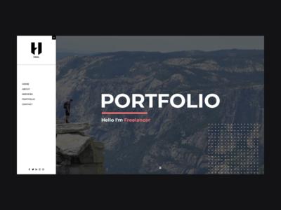 Hibix - Personal Portfolio / Resume envatomarket envato cv-template cv resume portfolio-site portfolio design