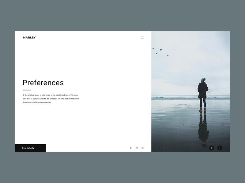 MARLEY – Digital Agency modern web design digital agency digital ux ui design