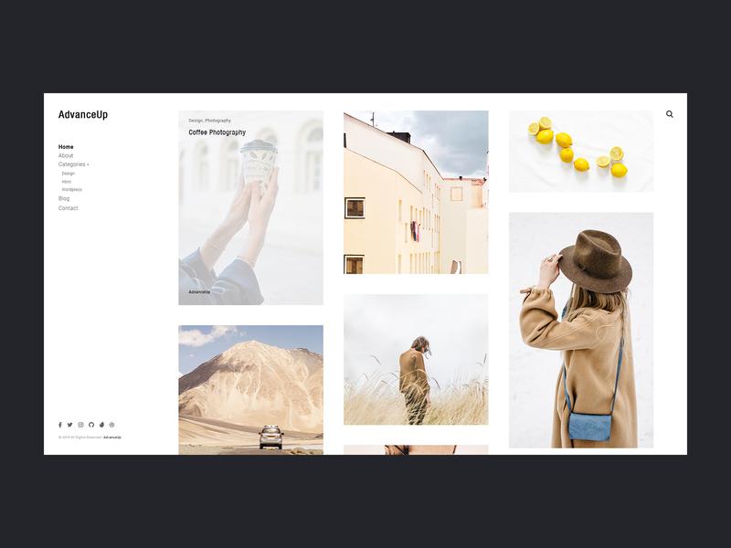 AdvanceUp - Home modern resume modern web design design cv porsonal portfolio personal portfolio