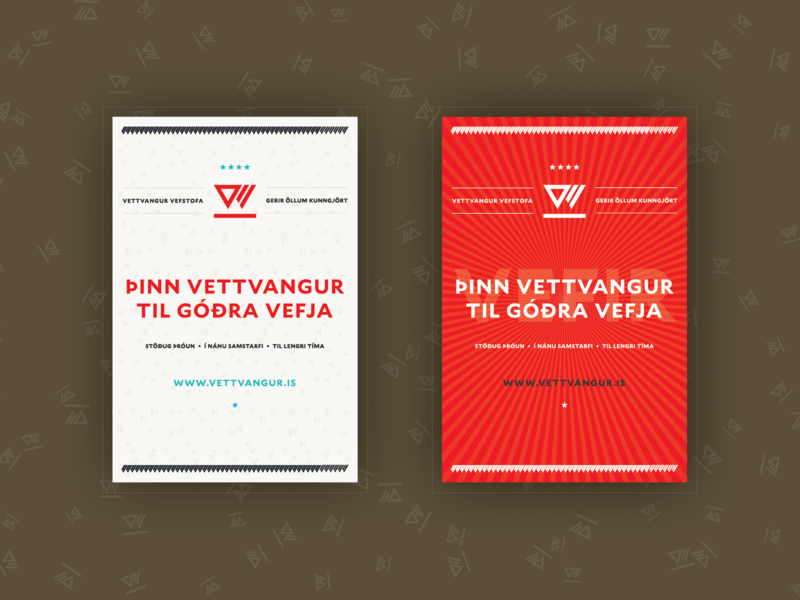 Vettvangur magazine ad print advertising magazine