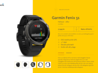 Garmin product sketch
