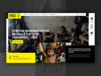 Amnesty International UI Concept