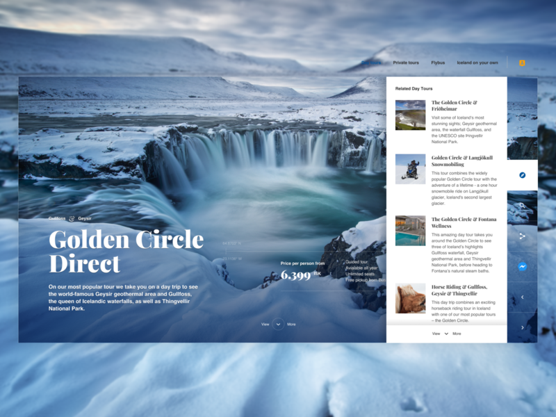 Golden Circle Direct : Light Version navigation nature iceland tour tourism travel
