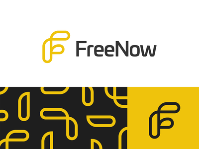 FreeNow (Redesign) icon illustration dribbble startup logo typography designer brand brandidentity logodesign logo branding