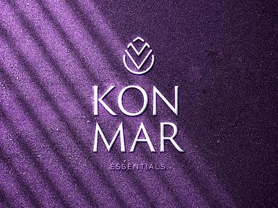 KonMar Essentials dribbble logodesign typography designer logos graphicdesign brand illustration logo branding