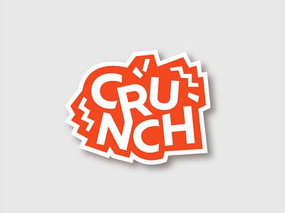 Crunch - Granola Logo Design logos ui businesslogo startup foodlogo vector design illustration graphicdesign brandidentity logodesign logo branding