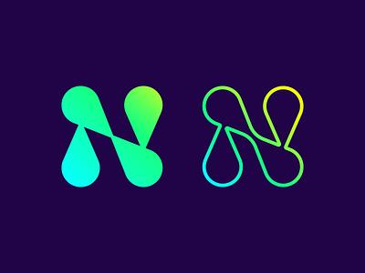 N Lettermark logo vector illustration logos ui design graphicdesign brandidentity logodesign branding