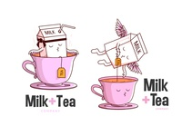Milk + Tea Illustration