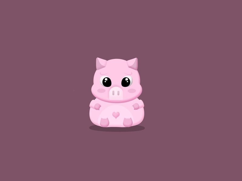 Hotpot🐷 cute animal pig mascot design mascot character animal character animal illustration animal mascot character illustration