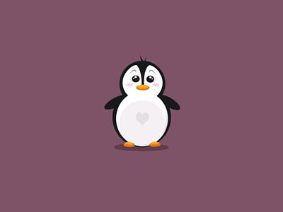 Boba 🐧 penguin mascot character mascot design logo character illustration cute animal cute mascot animal illustration animal character animal art animal