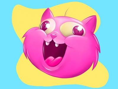 Mr Purrito 😼 2d character 2d art ipad colorful cartoon art game sticker cat mascot character digital cute animal animal character animal illustration mascot drawing digital art illustration character animal