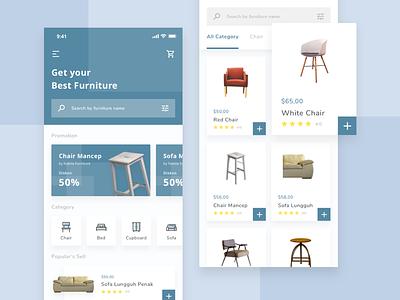 Furniture Shop Mobile App mobile design branding furniture ios user interface ux ui mobile ui mobile