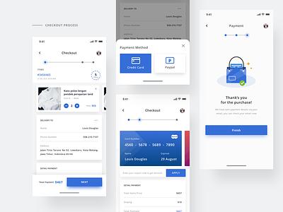 Checkout process checkout payment ecommerce design ios mobile app ux ui