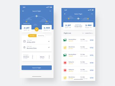 Flight App app aplication mobile clean user interface uidesign ux ui ios flight app flight