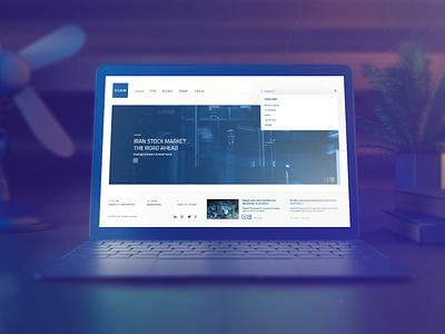 Kian Capital web deisgn key visual branding financial app visual concept graphic design user interface user experience art direction