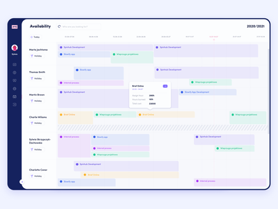 Team Calendar design timeline schedule task manager planner team interface dashboad admin page calendar minimal uiux ui app
