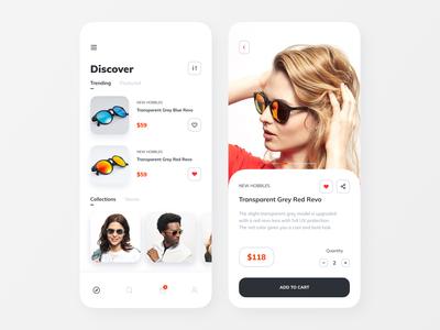 Sunglass Shop App