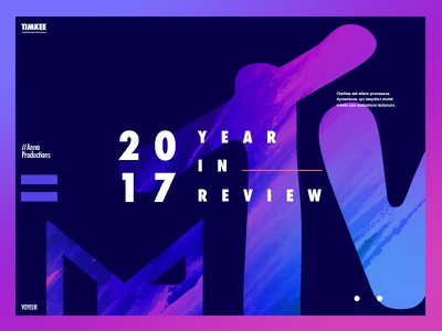 Design your 2017 Rebound-MTV Year in Review gurney michael mgurney88 2017 purple mtv