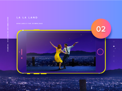 Video Slider UI: La La Land