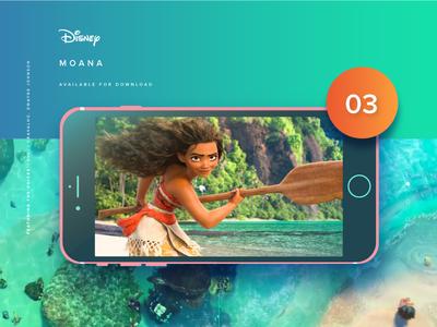 Video Slider UI: Moana