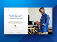 DocuSign Article Listing Card