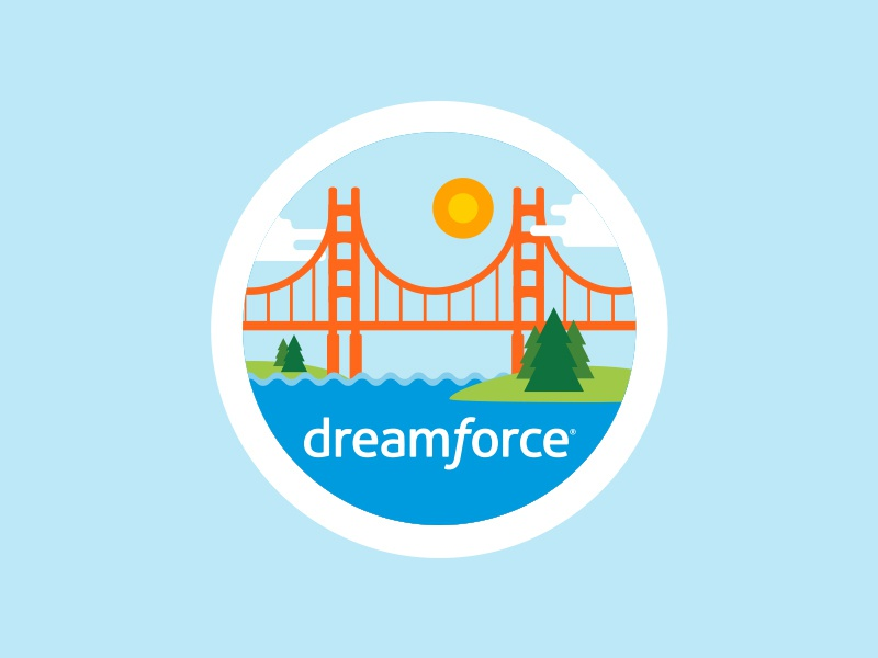 Docusign 'Dreamforce 17' Attendee Badge 17 dreamforce