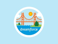 Docusign 'Dreamforce 17' Attendee Badge