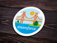 Docusign 'Dreamforce 17' Attendee Badge 2
