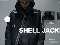 Nike shelljacket ui