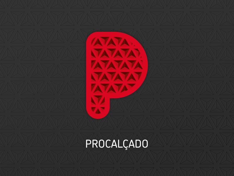 Procalcado logo logo brand identity rubber branding industry soles footwear shoes
