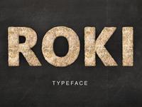 Roki - typeface