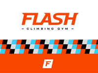 Flash Climbing Gym - Branding Concept