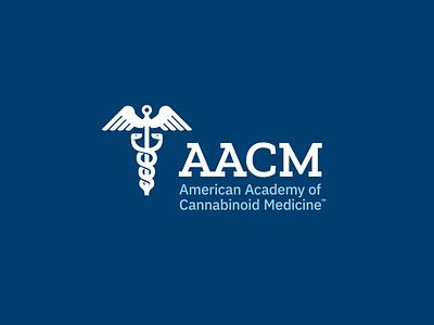 Logo Refresh For American Academy of Cannabinoid Medicine icon design brand design rebrand logo design typography design graphic  design logo branding