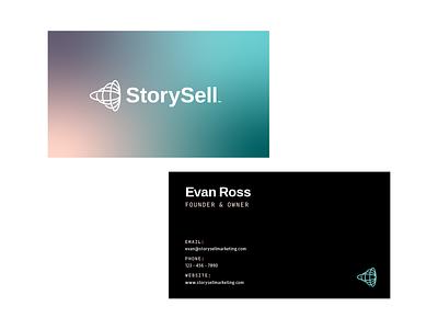 Unused Mark - StorySell visual identity abstract design logomark brandmark icon logo design brand graphic design logo branding