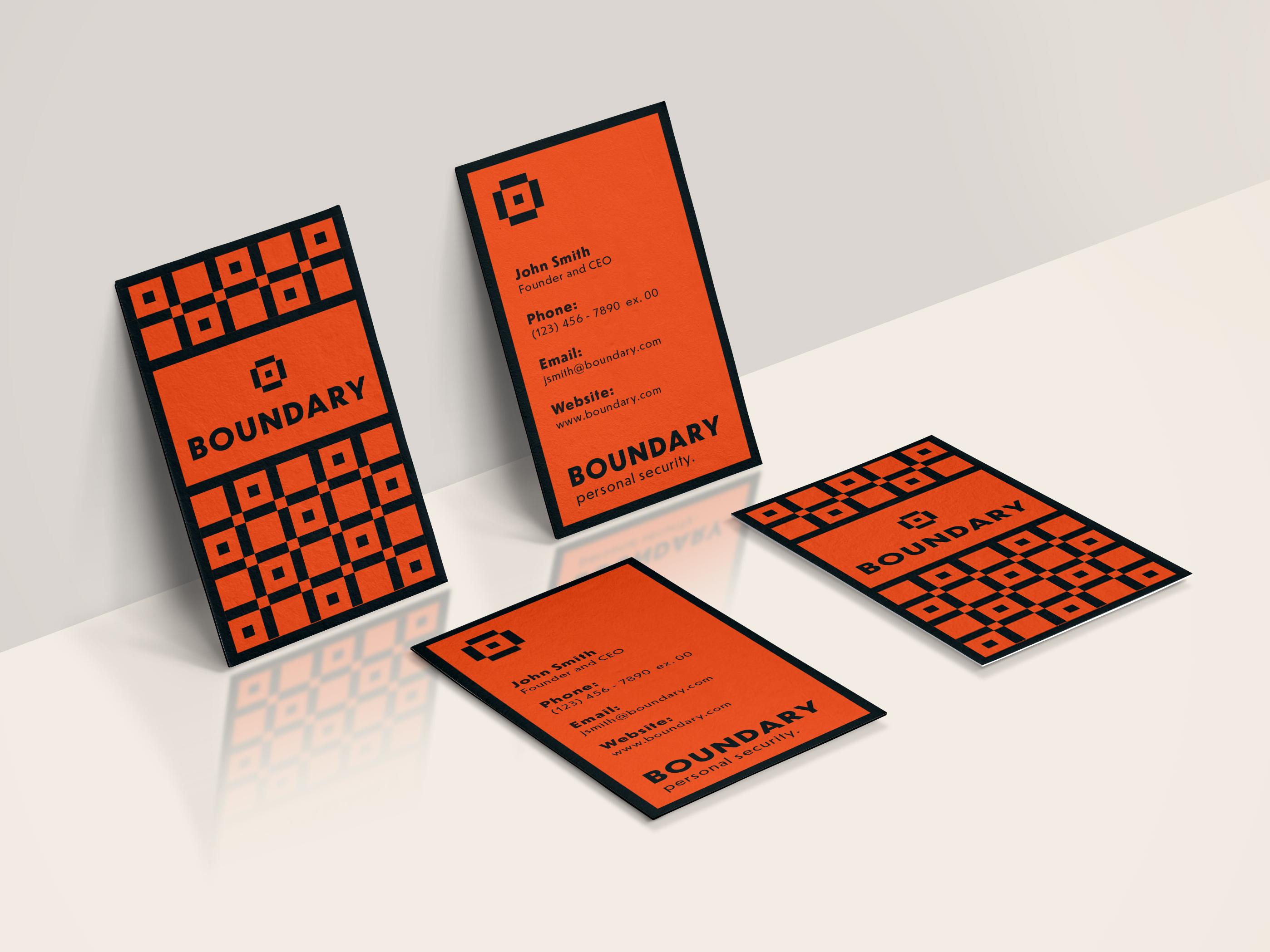 Boundary business card